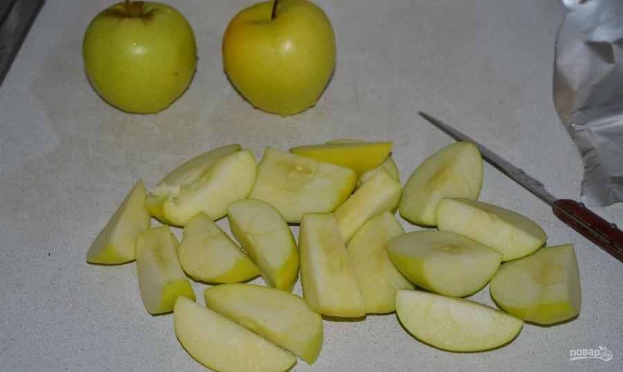 Рождественская утка с яблоками в духовке