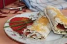 Лаваш, запеченный с сыром