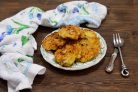 Оладьи из кабачков с мясом