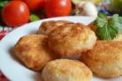 Пирожки-бомбочки с мясом