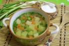 Простой овощной суп
