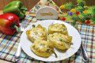 Перцы фаршированные курицей в духовке