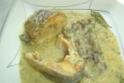 Линь в сметанном соусе