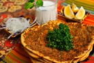 Турецкая пицца Лахмакун