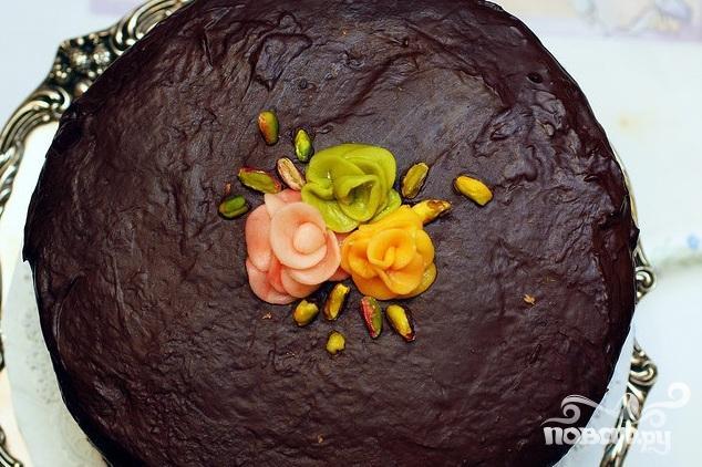 Фруктовый букет торт фото 5