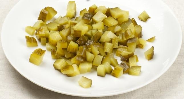 Салат к тушеной капусте