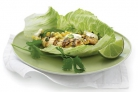 Курица с кукурузой, чили и салатом