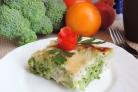 Запеченная брокколи под соусом