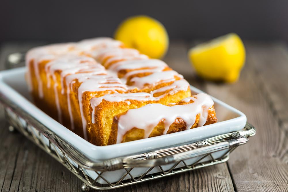 Лимонный пирог с йогуртом