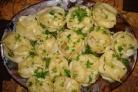 Манты с картошкой и мясом