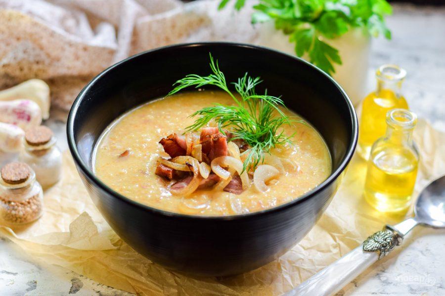 Перловый суп-пюре