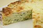 Пирог из лаваша с зеленью