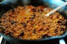 Жаркое из говядины с фасолью и помидорами