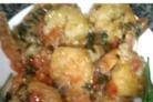 Чесночный соус с креветками