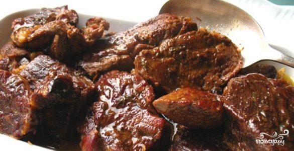 рецепт говядины на кости в мультиварке #13