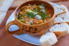 Грибной суп из вешенок