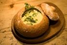 Грибной суп в горшочке