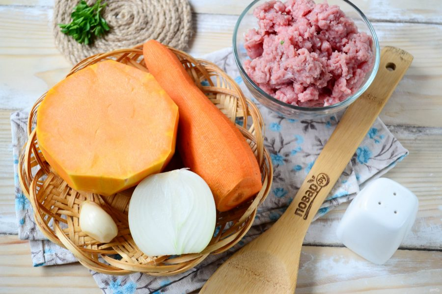 """Тыквенно-морковный суп """"Осень с остринкой"""""""