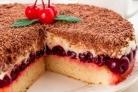 Вишневый торт с маскарпоне