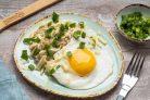 Овсянка с сыром и яйцом