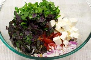 Салат к отбивным