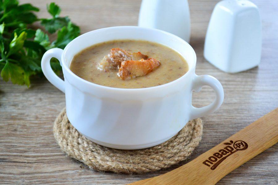 Гречневый суп-пюре