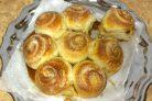 Сахарные булочки на закваске
