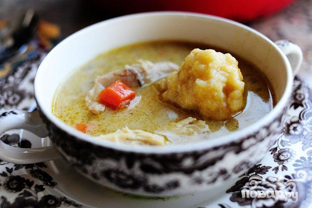 Рецепт Рецепт Куриного супа с клецками