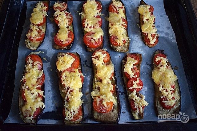 Баклажаны по-французски в духовке