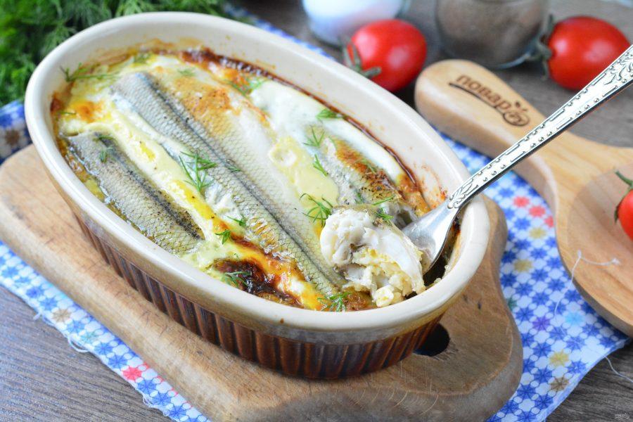 Рыба в яичной заливке