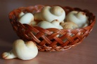 Печенье Жаворонки из постного теста
