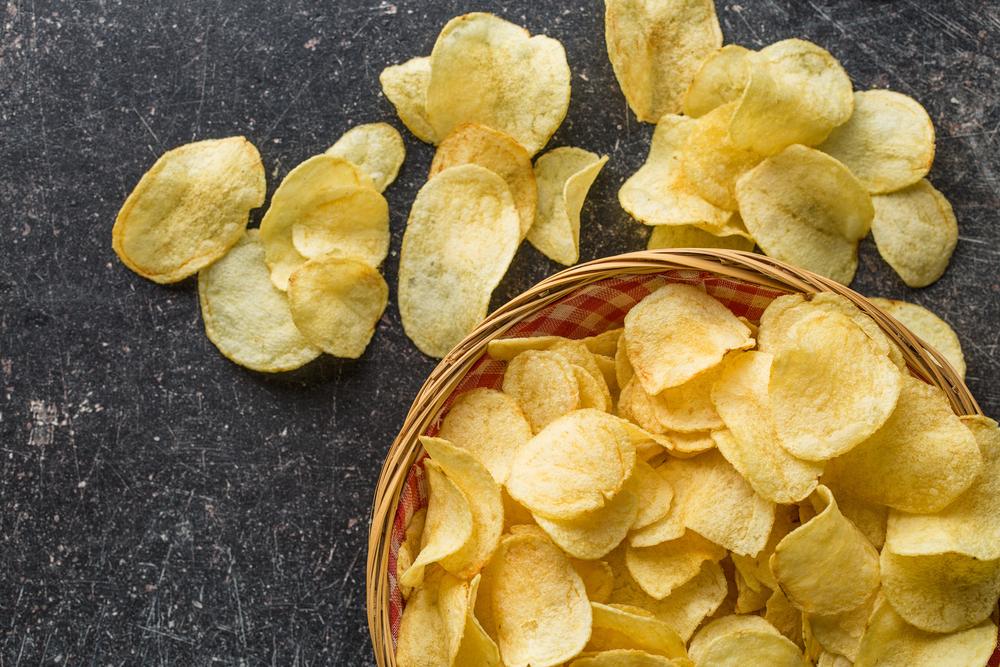 Замораживание картофельных чипсов