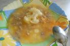 Суп из кролика для детей