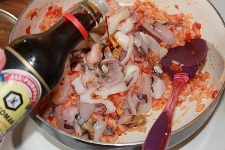 Блюда с морским коктейлем - 20 рецептов приготовления ...