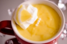 Лимонный заварной крем