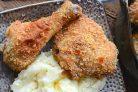 Курица в панировке из пармезана