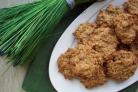 Банановое печенье с геркулесом