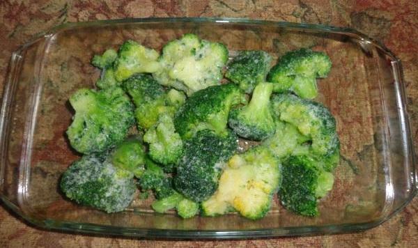 рецепт брокколи под сыром в духовке