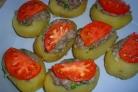 Картофельные лодочки с фаршем