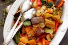 Баклажаны, тушеные с овощами