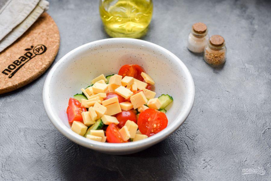 Салат с мидиями