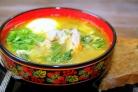 Суп из крапивы с мясом