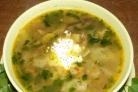 Грибной суп с капустой