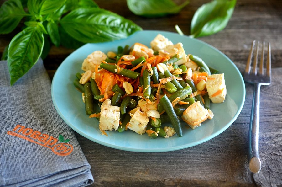 Салат из тофу