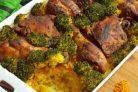 Рис с овощами и куриными ножками
