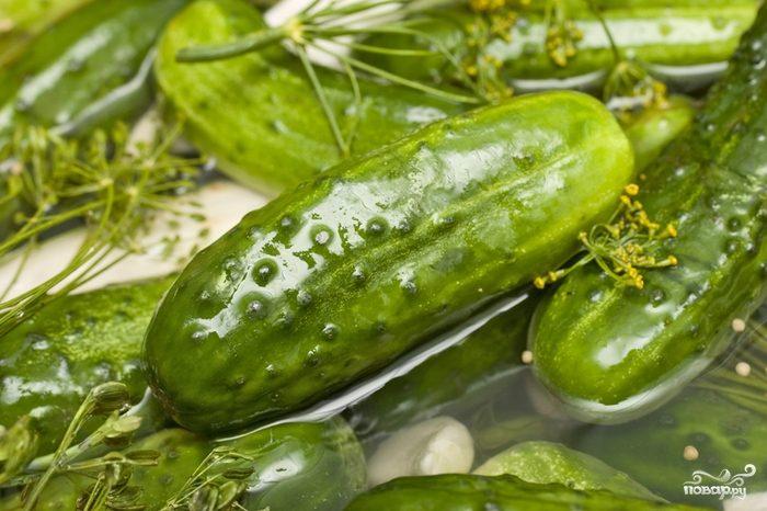 Вкусные рецепты с огурцами