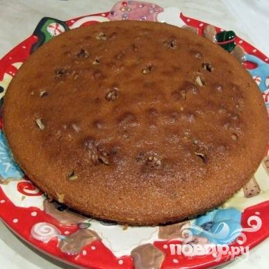 Ореховый кекс на коньяке