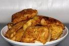 Жареное филе трески