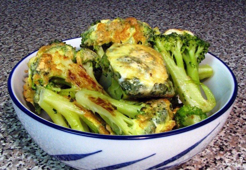 Жареная брокколи