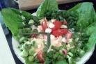 Салат из камчатского краба